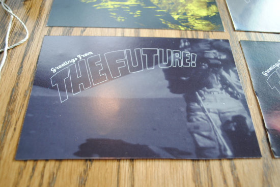 Greetings from the Future Postcards