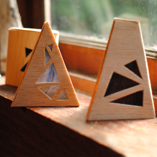 Wood Luminaries