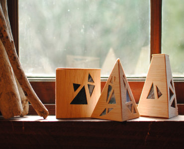 Wood Luminaries