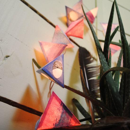 Lanterns: Moon Phase Series