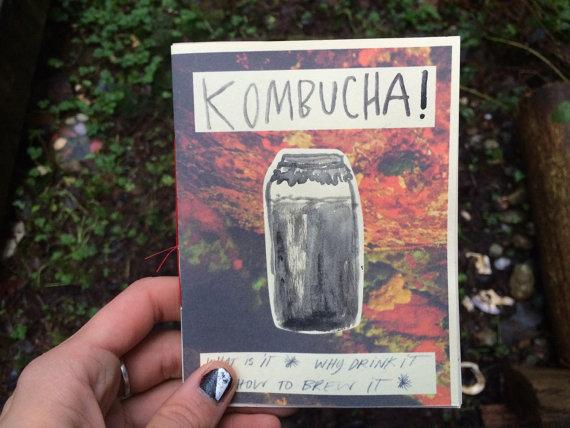 A Zine About Kombucha